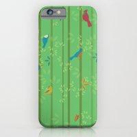 iPhone & iPod Case featuring Hello Birdies by AllisonBeilke
