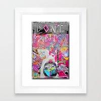 dOnt°Panic^2112 Framed Art Print