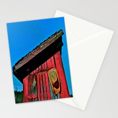 The Cowboy Hangs his Hat Stationery Cards