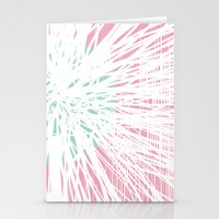 Pink Doodle Floral By Fr… Stationery Cards