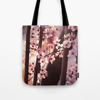 Pink Wind Tote Bag