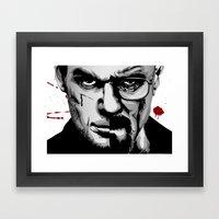 Dexter Morgan Vs Walter … Framed Art Print