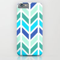 iPhone & iPod Case featuring SPRING CHEVRON 2 by natalie sales