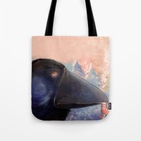 The Raven Who Steals You… Tote Bag