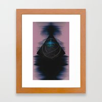 Energy Influx Framed Art Print