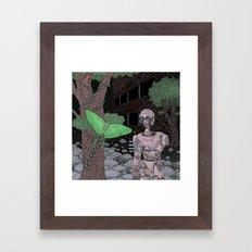 almost human Framed Art Print
