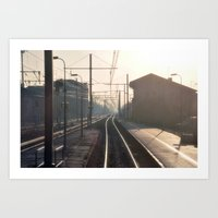 The Blurry Memory Of Lea… Art Print