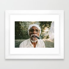 Stogie Framed Art Print