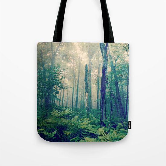 Walk to the Light Tote Bag