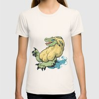 Royal Ludroth Womens Fitted Tee Natural SMALL