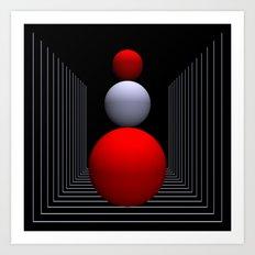 dimension -14- Art Print