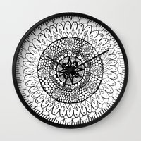 Mandala 5 Wall Clock
