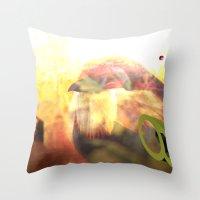 Genasearak Throw Pillow