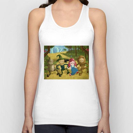 Wizard of Oz fan art Unisex Tank Top