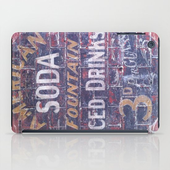 American Soda iPad Case