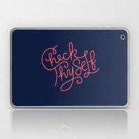 Check Thyself Laptop & iPad Skin