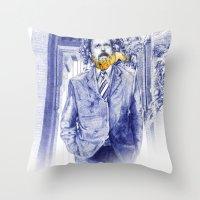 Clutch San Francisco Poster Throw Pillow