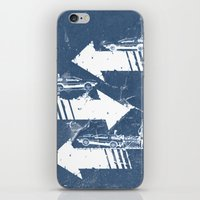 Back to the Future Minimalist Poster iPhone & iPod Skin