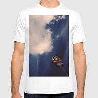 City Limits Mens Fitted Tee White SMALL