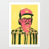Sausage Man Art Print