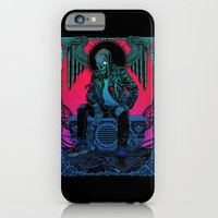 iPhone Cases featuring The Ghost of Dead Motor City by Lokhaan