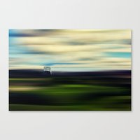 A Ball Of Loneliness In … Canvas Print