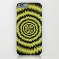 Yellow Explosion iPhone 6 Slim Case