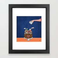 Powdered Sugar, Not Snow… Framed Art Print