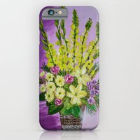 iPhone & iPod Case featuring Flower  basket by maggs326