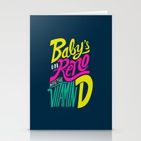 Baby's In Reno Stationery Cards