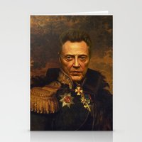 Christopher Walken - Rep… Stationery Cards