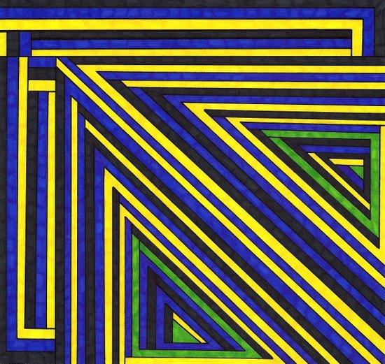 Structure 3 Art Print