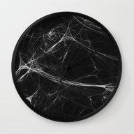 Absolute Black Marble Ed… Wall Clock