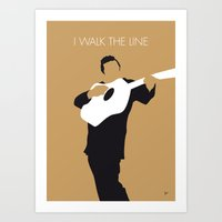 No010 MY Johnny Cash Min… Art Print