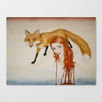 Slink Canvas Print