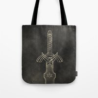 Legend of Zelda: Link Sword Tote Bag