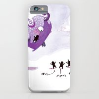 iPhone & iPod Case featuring People Eater by Elisa Wikey