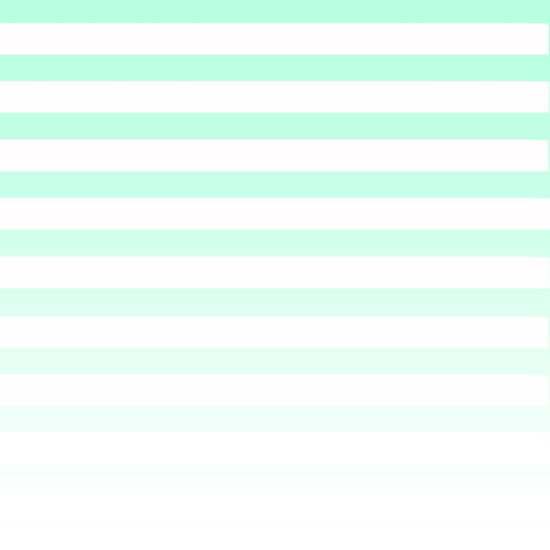 MINT STRIPE FADE Art Print