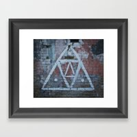The All Seeing.. Framed Art Print