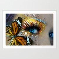 Nature Coloured Art Print
