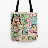Let's Get It Together Tote Bag