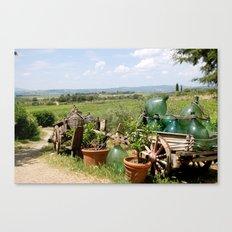 The Wine Salesman Canvas Print