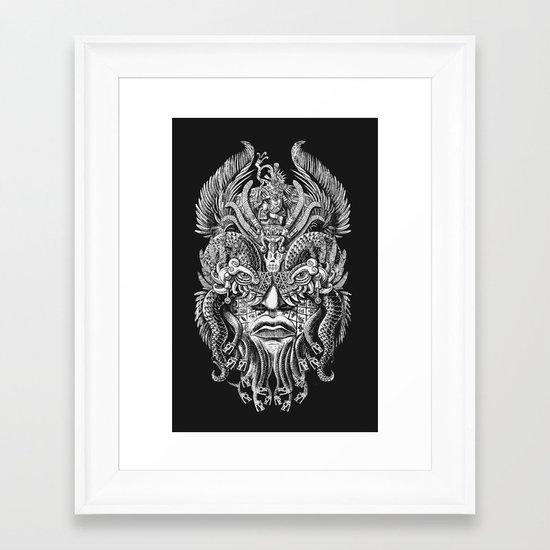Queztalcoatl Framed Art Print