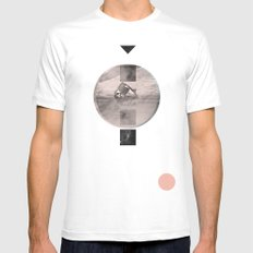 for the stars Mens Fitted Tee SMALL White