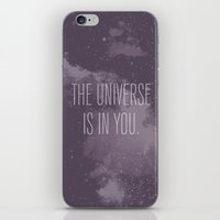 Forged In The Stars iPhone & iPod Skin