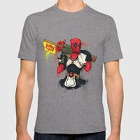 Dead Pool-chan Mens Fitted Tee Tri-Grey SMALL