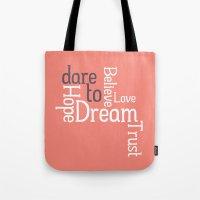 Dare To Love -- Alternat… Tote Bag