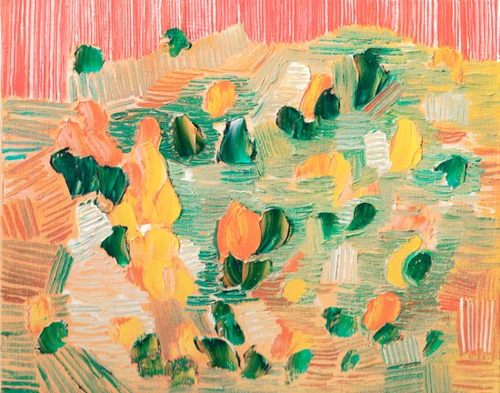 Abstract 90 Art Print