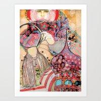 Russian Dressing for More Magazine Art Print
