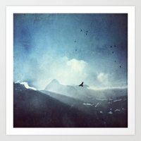 Mountain Light Art Print